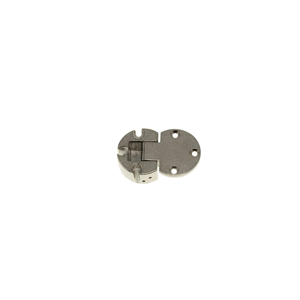 Art.5299/5687 Bisagra abatible plano cazoleta 30 mm zamak