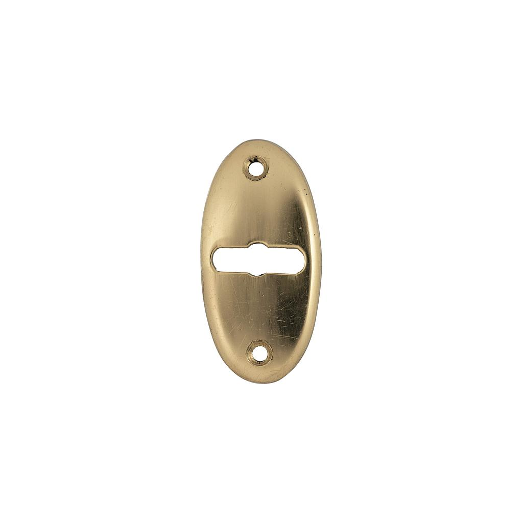 Art.3017-1   Bocallave Oval bronce